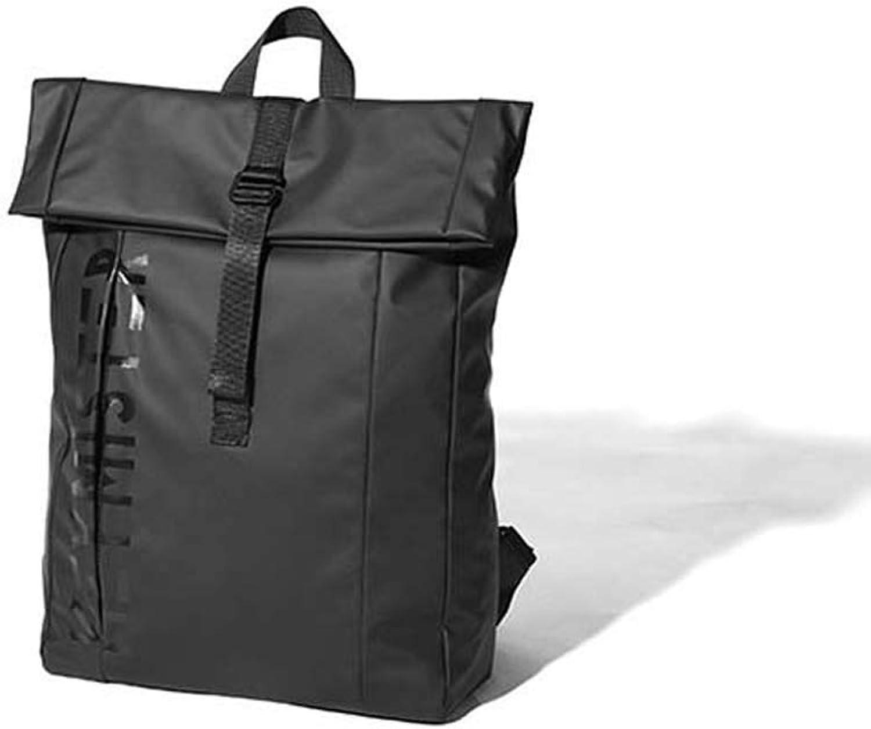 Fashion Rucksack-Student Computer Bag-Wander Fahrrad Reisetasche-Mnnliche Weibliche Rucksack,schwarz