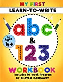 My First Learn-To-Write ABC & 123 Workbook