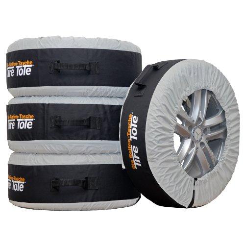 Porta neumáticos para neumáticos 4 bolsas Ruedas llantas neumáticos...