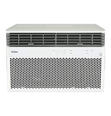 Haier Energy Star 14,000 BTU Smart Electronic Large Rooms up to 700 sq ft. Window Air Conditioner, White
