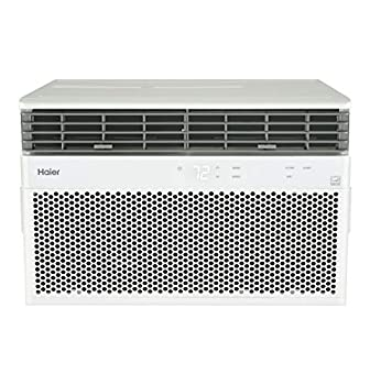 Haier Energy Star 8,000 BTU Smart Electronic Medium Rooms up to 350 sq ft Window Air Conditioner 8000 115V White