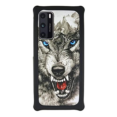 LTao-case Funda para Samsung SM-J415N Galaxy J4 Plus 2018 Funda Case Cover Carcasa para teléfono Hard Backplane + Marco de Silicona Suave PCXKOU