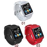 BIXIAZON Hot Smartwatch Bluetooth Smart Watch U8 for iPhone iOS Android Smart Phone Wear Clock Wearable Device Smartwach PK U8 GT08 DZ09