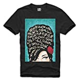 Lo166Ve Men's T-Shirt Amy Winehouse Icon Tattoo Club 27 Wasted