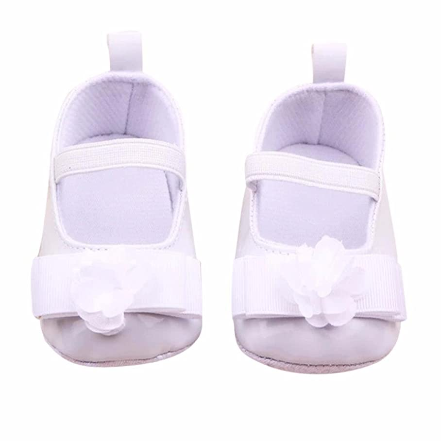 Yoyorule Infant Kids Girls Flowers Bow Soft Sole Baby Shoes Toddler Shoes f890473929