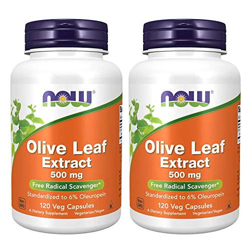 Now Foods Olive Leaf Extract 500mg Standardized to 6%...