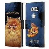 Head Case Designs Officiel Harry Potter Crookshanks Prisoner of Azkaban II Coque en Cuir à...