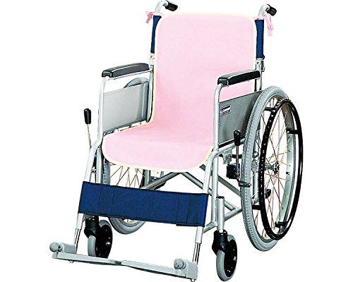車椅子シートカバー(同色2枚入) ピンク (ケアメディックス) (車いす用小物)
