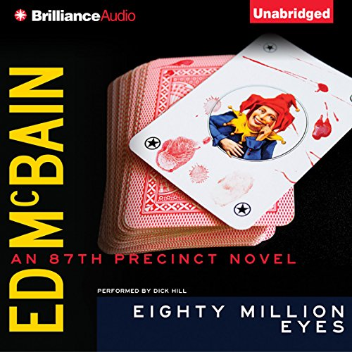 Eighty Million Eyes audiobook cover art