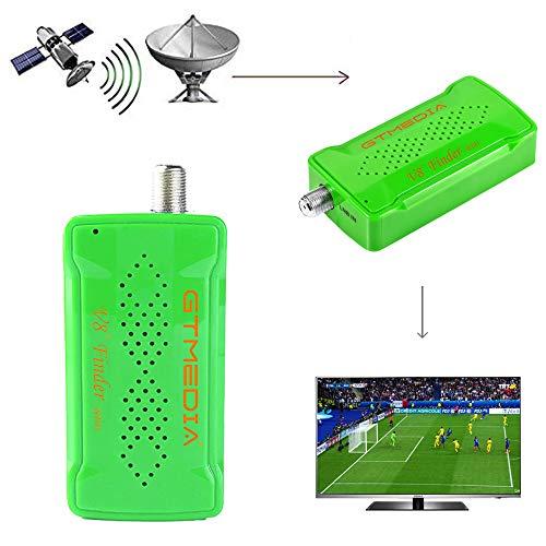 GT MEDIA V8 Sat Finder BT03 Localizador satelite Medidor de Campo Satelital, Conectar el teléfono a través de Bluetooth, Ajuste óptimo de Antenas parabólicas/Equipos parabólicos Digitales