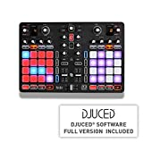 Hercules - HERCULES P32 DJ - Controlador DJ - PC / Mac - Dos decks con interfaz de audio integrada y...