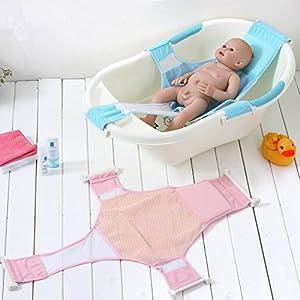 StillCool Recién Nacido Asiento baño del bebé Accesorios de baño de Soporte del Asiento baño de Ducha del bebé recién Nacido del bebé Baño de Seguridad (Rosa)