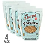 Bob's Red Mill Resealable Whole White Popcorn, 27 Oz (4 Pack)