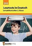Lesetests in Deutsch - Lernzielkontrollen 3. Klasse, A4- Heft (Lernzielkontrollen, Tests und Proben, Band 293) - Gerhard Widmann
