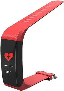 Mars Jun Pulsera Actividad, Pulsera Inteligente Pantalla Color HR con Pulsómetro Pulsera Deportiva y Monitor de Sueño de Actividad para Mujer Hombre Reloj Fitness Podómetro