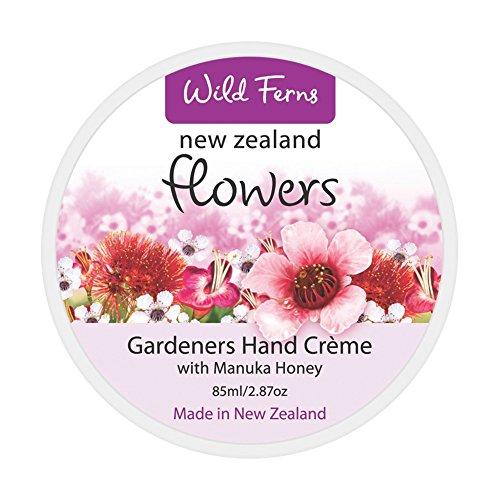 Wild Fern Fleurs jardiniers Crème mains avec Miel de Manuka 85 ml