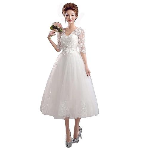 9c0e055fe28c3 ミニドレス 袖あり 二次会 結婚式 パーティードレス ウエディングドレス 結婚式 二次会 パーティー イベント