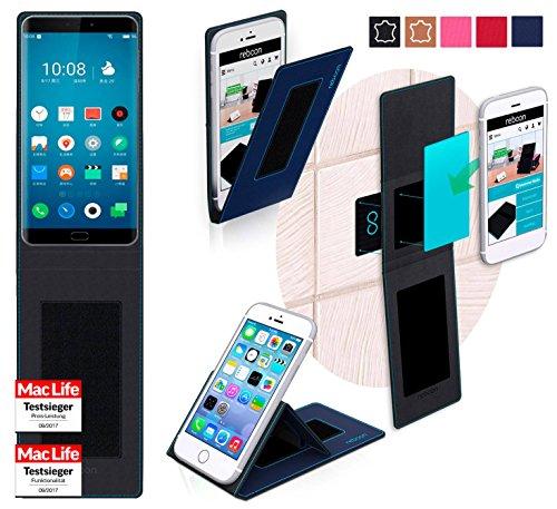 reboon Hülle für Meizu Pro 7 Tasche Cover Case Bumper   Blau   Testsieger