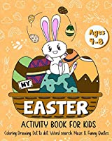 My Easter Activity Book for Kids Age 4-8