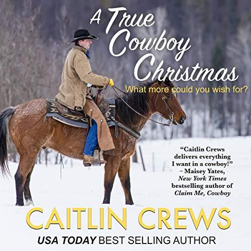 A True Cowboy Christmas audiobook cover art