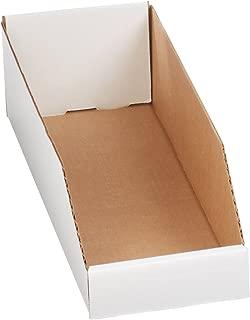 Aviditi BINBWZ618 Corrugated Open Top Bin Box, 18