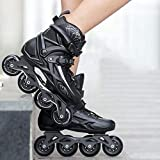 Patines Patines Adult Roller Patines Adulto Hombres y Mujeres Patines en línea Patines Patines Profesionales,41
