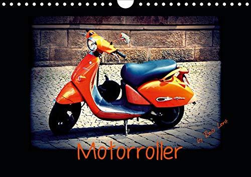 Motorroller (Wandkalender 2020 DIN A4 quer): Das Kultfahrzeug (Monatskalender, 14 Seiten ) (CALVENDO Mobilitaet)