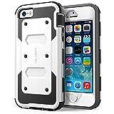 i-Blason Funda Compatible con iPhone SE/5S/5, Funda Protectora 360 Grados, Carcasa Resistente...
