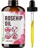 Organic Pure Rosehip Essential Oil - Rosehip Oil Essential Oil Rose Oil Rose Hip Oil Rosehip Seed Oil Organic Rose Hipseed Oil Unrefined Face Serum