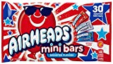 Airheads Red White and Blue Minis, 30 Count