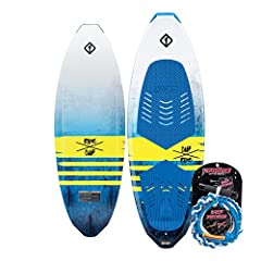Surf style allows for easy traction and predictable turns Compression molded Double edge rail Three 1.75' tail fins CNC diamond cut EVA pad with kick tail