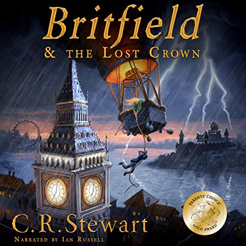 Britfield and the Lost Crown cover art