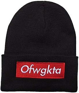 dc27a5ff7a96 OFWGKTABlack Beanie Hat Souvenier Gift Unique