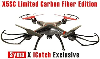 Syma X5SC-CE Explorers 2 Carbon Fiber Quadcopter Drone HD Camera w/ 2 batteries (Double the Flight Time)