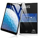 iPad Air 10.5 3 2019 フィルム TopACE iPad Air3 10.5インチ 硬度9H 超薄0.3mm 2.5D 耐衝撃 撥油性 超耐久 耐指紋 日本旭硝子素材採用 飛散防止処理保護フィルム ipad air2019 対応