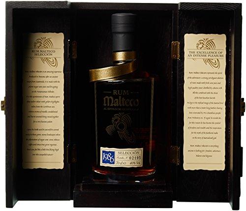 Malteco Seleccion 1986 Wooden Box Rum (1 x 0.70 l)