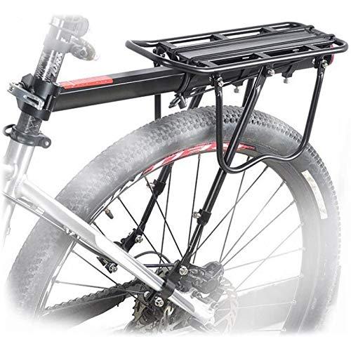 YUEWEIWEI Bicicleta de Gran Capacidad para Bicicletas Ajustable Universal, Soporte de Equipos de Bicicletas, portaas de Equipaje de Bicicletas, con Logotipo Reflectante
