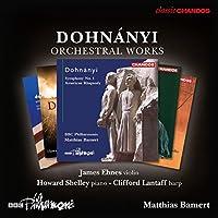 Dohnanyi: Orchestral Works [James Ehnes; Howard Shelley; Clifford Lantaff; BBC Philharmonic , Matthias Bamert] [CHANDOS: CHAN 10906(5)X] by James Ehnes