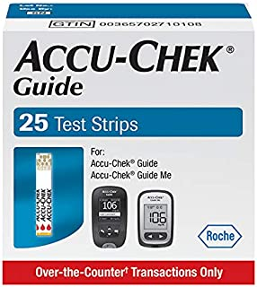 Accu-Chek Guide Glucose Test Strips (Pack of 25)