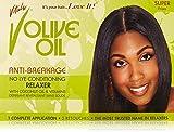 Vitale Olive Oil Relaxer Kit, Super , Green