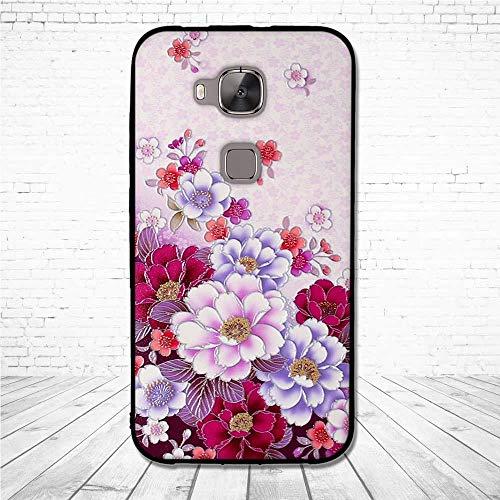 Cajas del Teléfono Móvil Fundas De TPU para Huawei G8 G 8 Funda De Silicona Suave para Huawei G7 Plus 3D Carcasas De Alivio para Huawei Ascend Gx8 G7Plus Bolsas TPU 4
