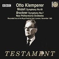 Mozart: Symphony No.4; Bruckner: Symphony No.7 by New Philharmonia Orchestra (2013-06-11)