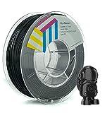 Eolas Prints   Filamento PLA 1.75   Impresora 3D   Fabricado en España   Apto para uso alimentario y crear juguetes y envases   1,75mm   250gr   Negro