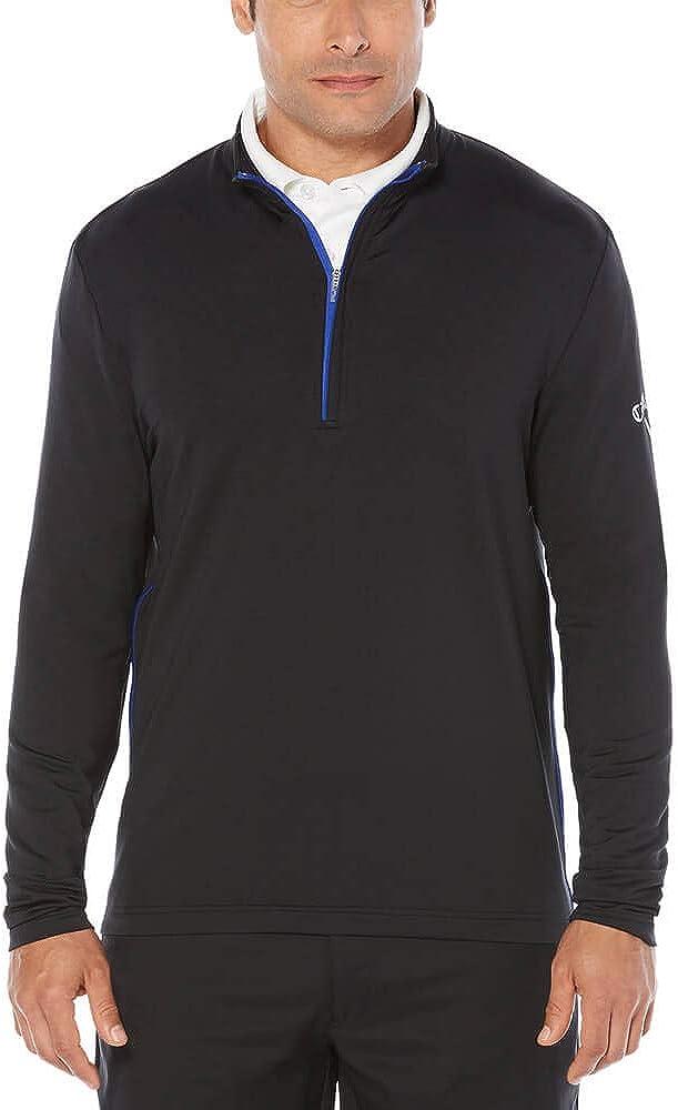 Callaway Men's Opti-Temp Long Sleeve Sales Outlast 1 4 Premium Mid Zip Max 49% OFF