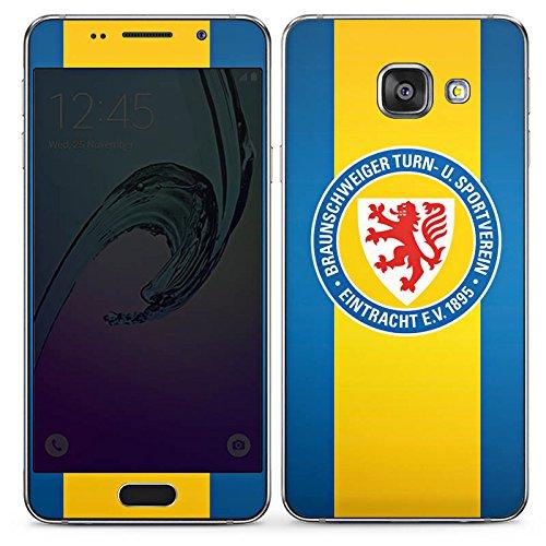 DeinDesign Samsung Galaxy A3 (2016) Folie Skin Sticker aus Vinyl-Folie Aufkleber Eintracht Braunschweig Fanartikel Football