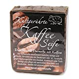 Florex Kaffeeseife Duschseife Handseife Deodorant neutralisiert Gerüche wie Zwiebel Knoblauch Fisch...