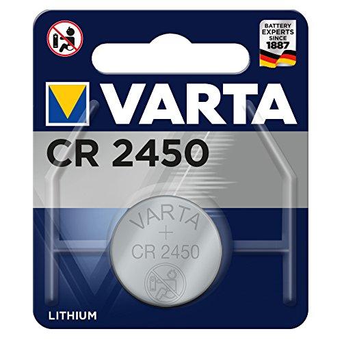 Varta CR 2450 Lithium 3V Knopfzelle