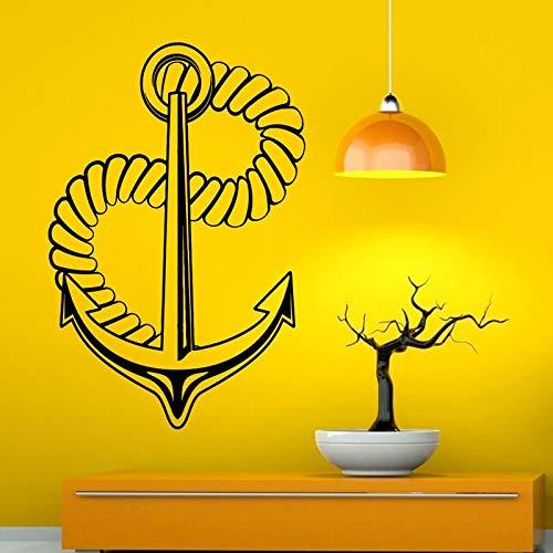 yaonuli watermodieuze anker zee marine sticker decoratie huis kunst muursticker nieuwe muursticker