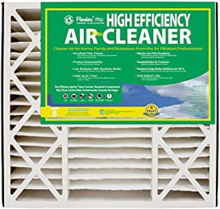 NaturalAire High Efficiency Air Filter, MERV 8, 20 x 25 x 6-Inch, 2-Pack