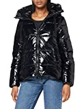 Geox W Emalise Parka, BLACK, 40 para Mujer